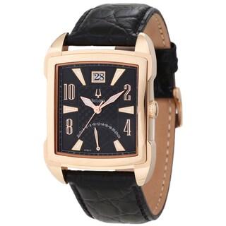 Bulova Men's Adventurer Leather Strap Watch