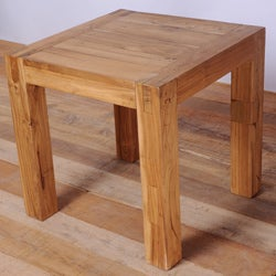 Simple Teak Side Table (India)