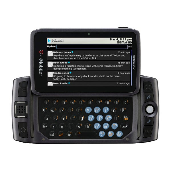 Sharp Sidekick LX Unlocked GSM Cell Phone