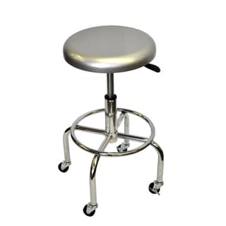 Trinity Pneumatic Aluminum Work Stool with Casters
