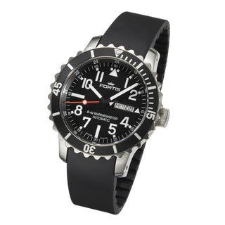 Fortis Men's B-42 Marinemaster Automatic Black Dial Watch