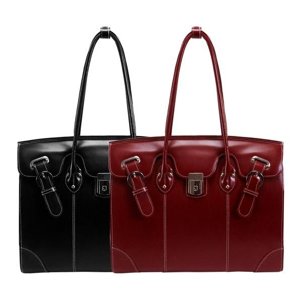 McKlein Women's LeClaire 15.4-inch Laptop Tote Bag