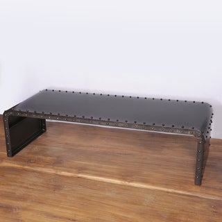 Manali Waterfall Old Iron Lacquer Coffee Table (India)