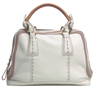 Oryany Maxine Leather Satchel Handbag