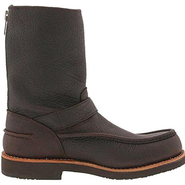 "Chippewa Boy's 'W 10"" W/P Mocc' Leather Boots Wide (Size 6.5)"