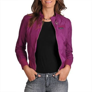 Members Only Women's New Fitted Racer Jacket