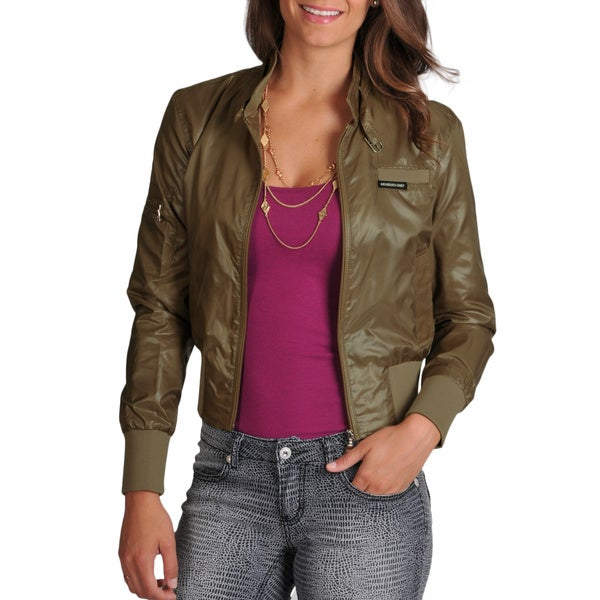Members Only Women's Cire Classic Bomber