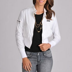 Members Only Women's Classic Nylon Bomber