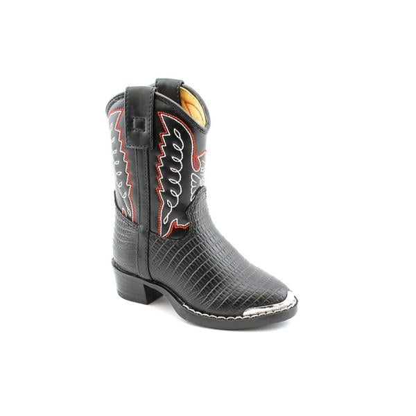 Durango Boy's 'BT740' Faux Leather Boots Wide