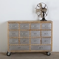 Amritsar Reclaimed Wood 14-drawer Dresser (India)