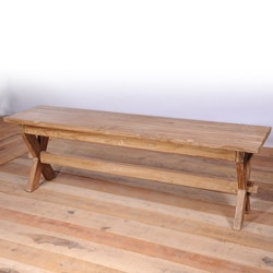 Chennai Teak Bench (India)