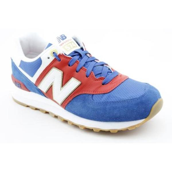 New Balance Boy's '574 Olympic Collection' Regular Suede Athletic Shoe (Size 4)