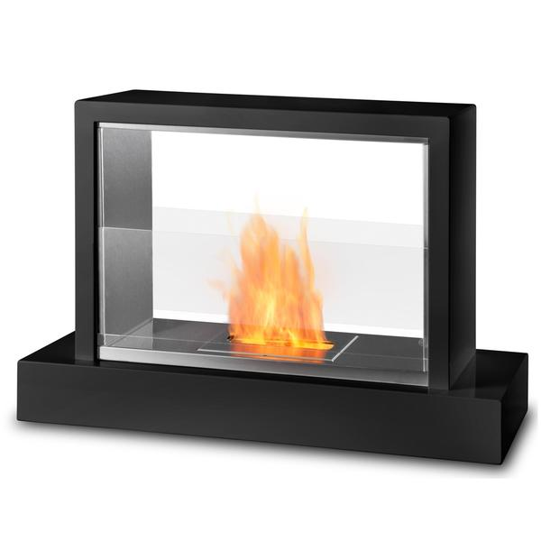 Real Flame Insight Glass Fireplace