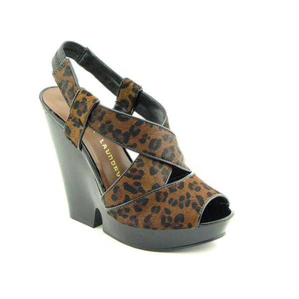 Chinese Laundry Women's 'Guess What' Artifical Fur Sandals (Size 8)