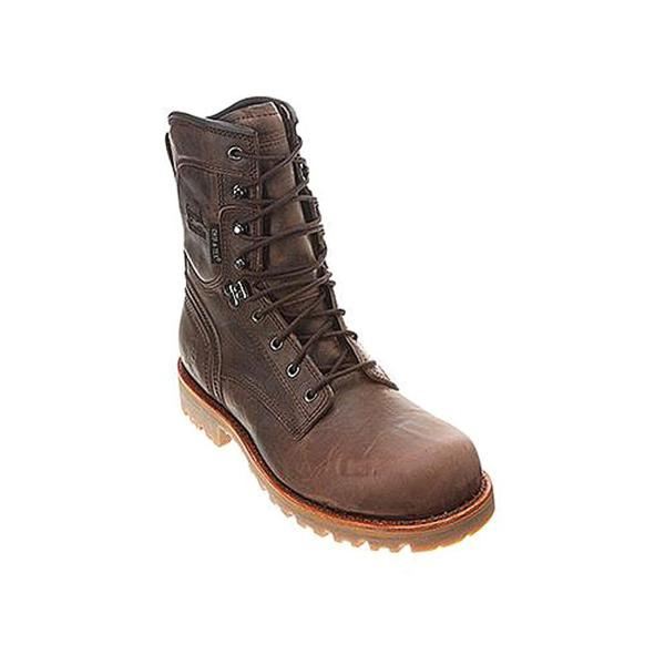 "Chippewa Boy's 'W 8"" Wild Puff Qtr W/P INS' Leather Boots Wide (Size 6.5)"