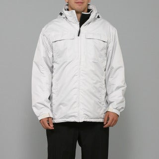 Zonal Men's White Snowboard Jacket