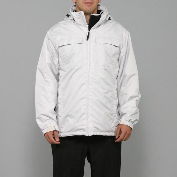 Zonal Men's White Snowboard Jacket