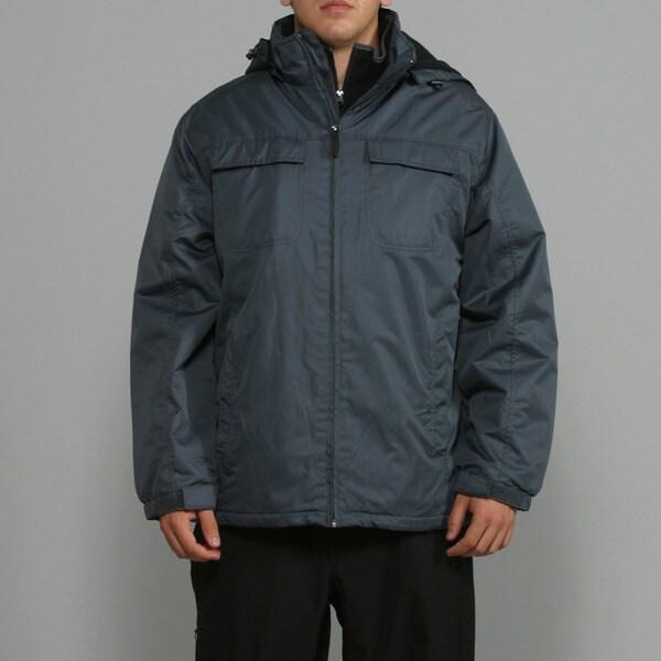 Zonal Men's Charcoal Snowboard Jacket