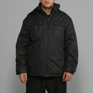 Zonal Men's Black Snowboard Jacket