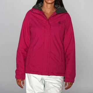 Rip Curl Women's 'Voilet Hill' Raspberry Ski Jacket