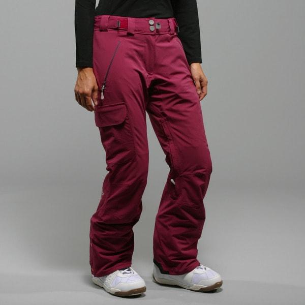 Rip Curl Women's 'Ultimate' Raspberry Ski Pants