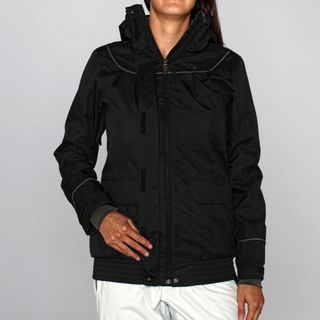 Rip Curl Women's 'Sorbet Slouch' Moonless Black Ski Jacket