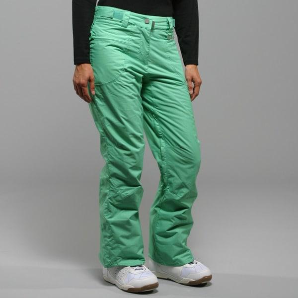 Rip Curl Women's 'S Dancing Queen' Ming Green Ski Pants