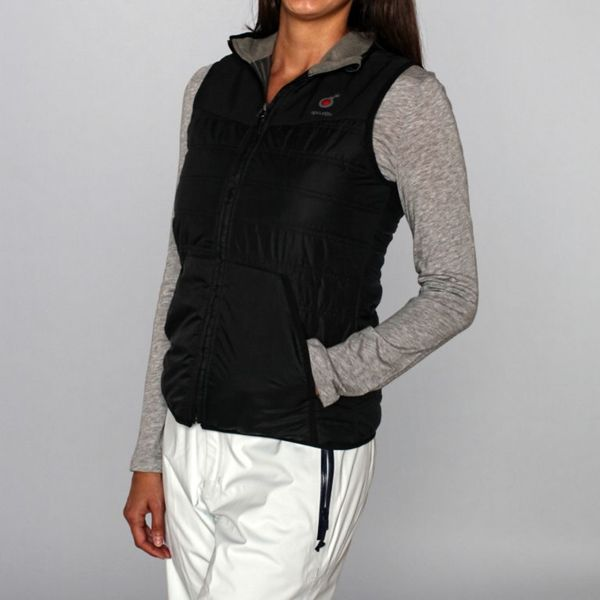 Rip Curl Women's 'S Bomb' Moonless Black Ski Vest
