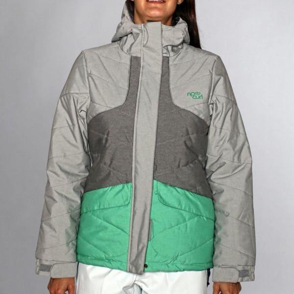 Rip Curl Women's 'Fizz' Neutral Grey Puffer Ski Jacket