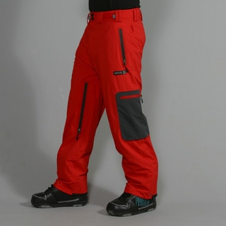 Rip Curl Men's 'Ultimate' Flame Scarlet Ski Pants