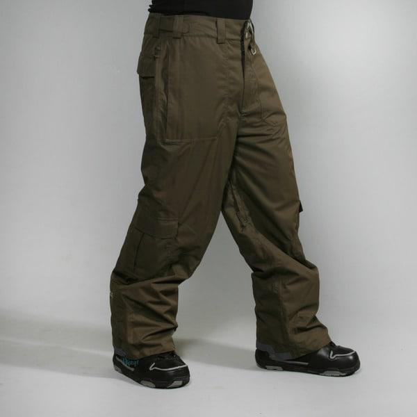 Rip Curl Men's 'Tune In BL' Black/ Olive Ski Pants