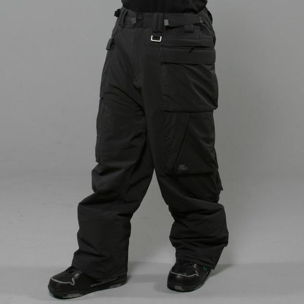 Rip Curl Men's 'Sano' Moonless Black Ski Pants