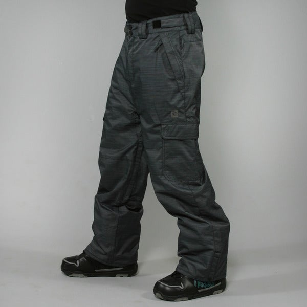 Rip Curl Men's 'Focker Tech' Black Ski Pants