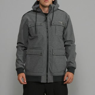 Rip Curl Men's 'Espionage' Black Soft Shell Jacket