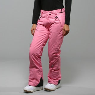 Marker Women's 'SL' Pink Insulated Ski Pants