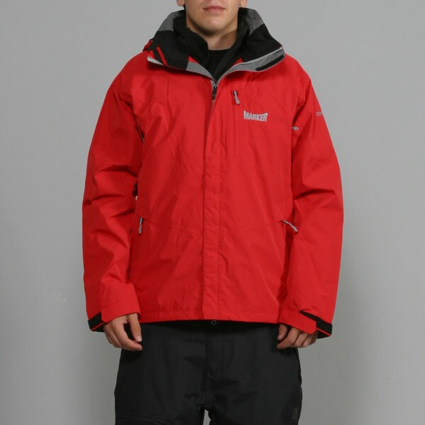 Marker Men's 'Zodiac' 3-in-1 Red Ski Jacket