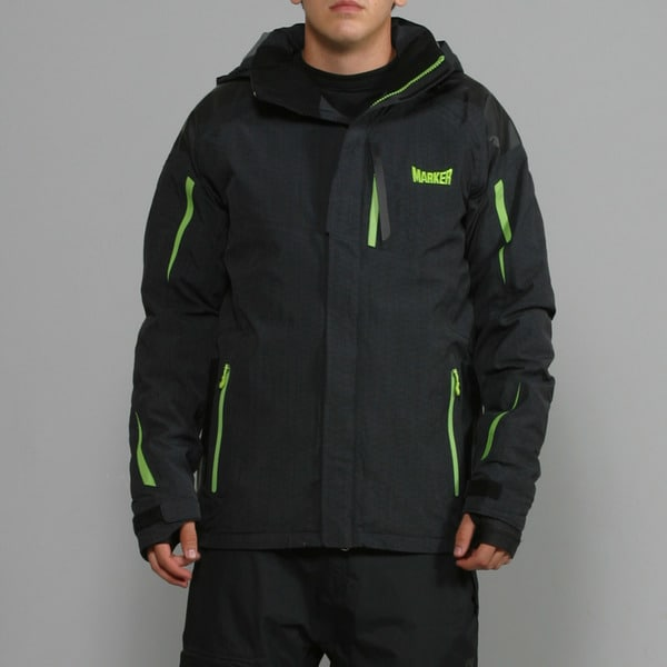 Marker Men's 'Arrowhead' Black Ski Jacket