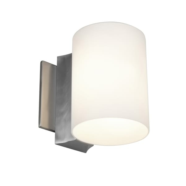 Access 'Taboo' 1-light Brushed Steel Wall Sconce