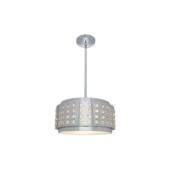 Access 'Aura' 2-light Chrome 18-inch Pendant