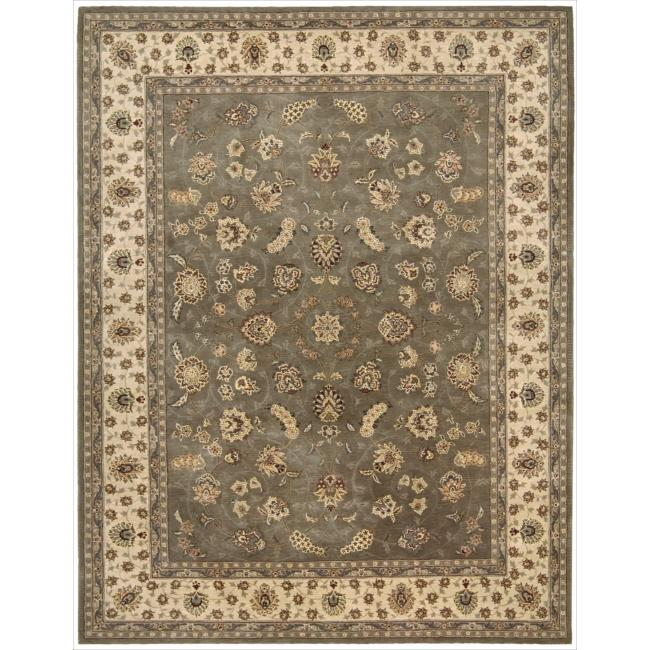 Nourison 2000 Hand-tufted Tabriz Green Rug (7'9 x 9'9) at Sears.com