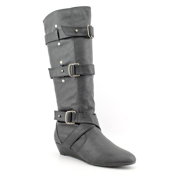 Madden Girl Women's 'Ilstrate' Faux Leather Boots