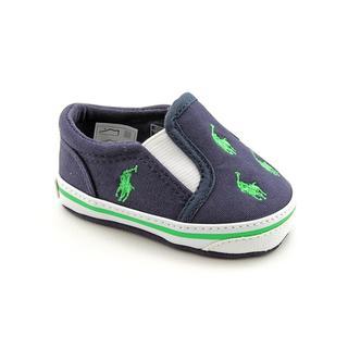 Ralph Lauren Layette Boy's 'Bal Harbour Repeat' Canvas Casual Shoes