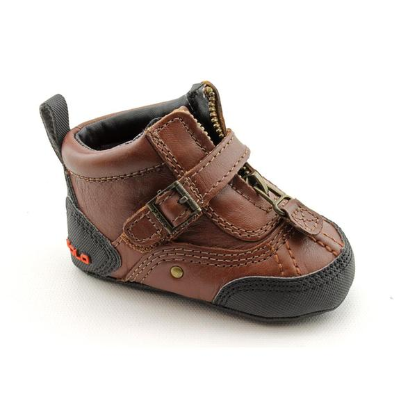 Ralph Lauren Layette Boy's 'Tyrek Zip' Leather Boots