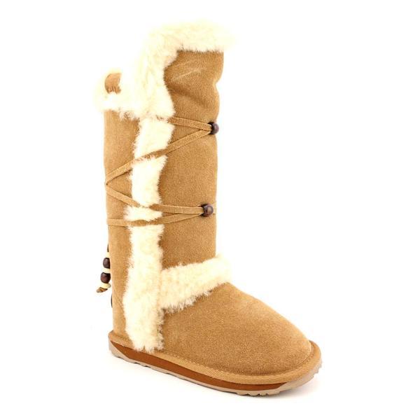 Emu Australia Girl's 'Yorklea Hi' Regular Suede Boots