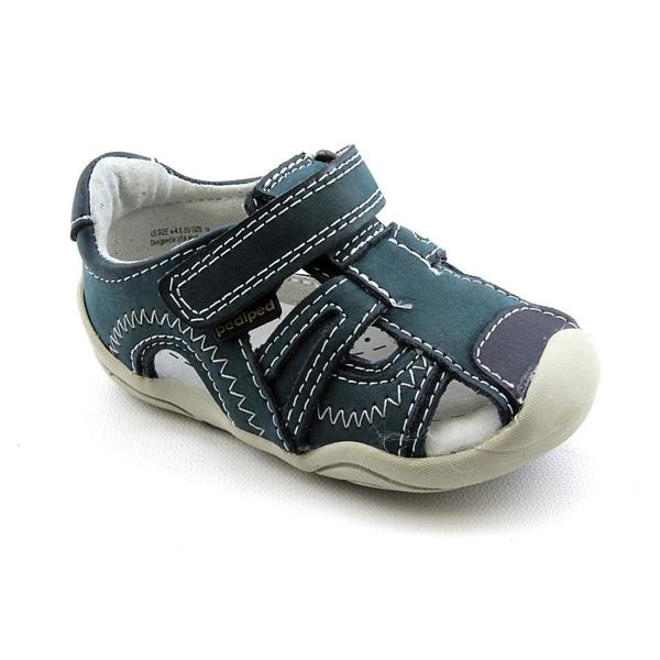 Pediped Grip N Go Boy's 'Brody' Leather Sandals