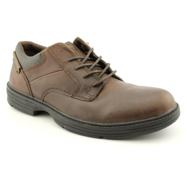 Caterpillar Men's 'Oversee' Leather Occupational Wide