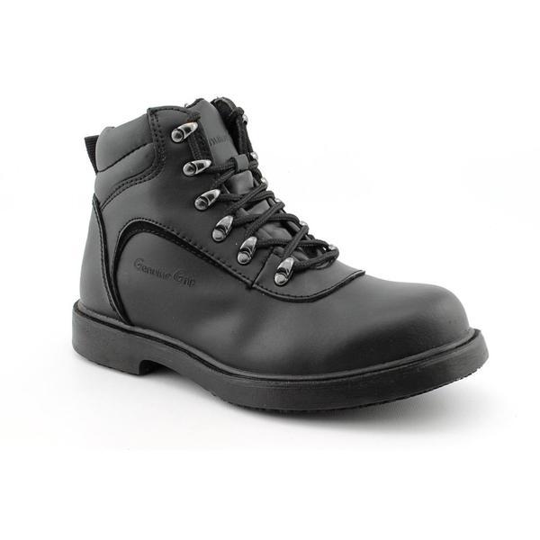 Genuine Grip Men's '7130 Steel Toe' Leather Boots Wide
