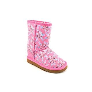 Ukala Girl's 'Fleur Low Kids' Regular Suede Boots