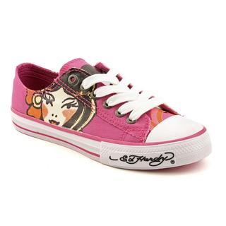 Ed Hardy Women's 'Lowrise Bela' Canvas Casual Shoes