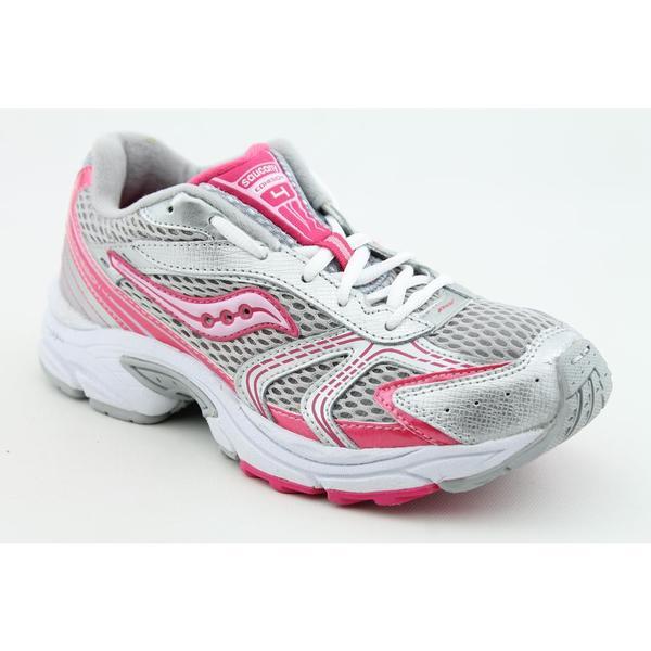 Saucony Girl's 'Cohesion 4 LTT' Mesh Athletic Shoe